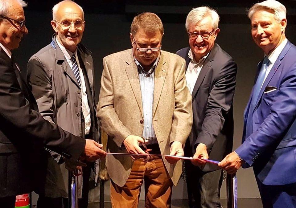 07-06-2019 : Inauguration d'un nouveau bâtiment à Sainte-Croix-Sainte-Euverte