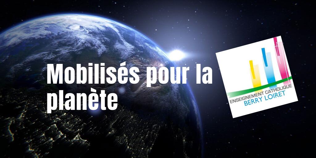 Mobilisation pour la planète au Collège Notre Dame de Vierzon