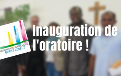 Inauguration de l'oratoire de Saint-Cyr à Issoudun