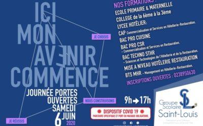 Samedi 6 Juin – Portes ouvertes au Groupe Scolaire Saint-Louis (Montargis)