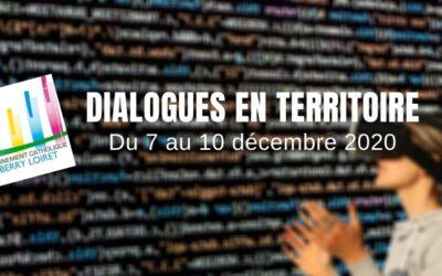 DIALOGUES en TERRITOIRE – Du 7 au 10 décembre 2020