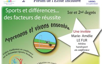 2ème FORUM de l'ECOLE INCLUSIVE – 29 septembre